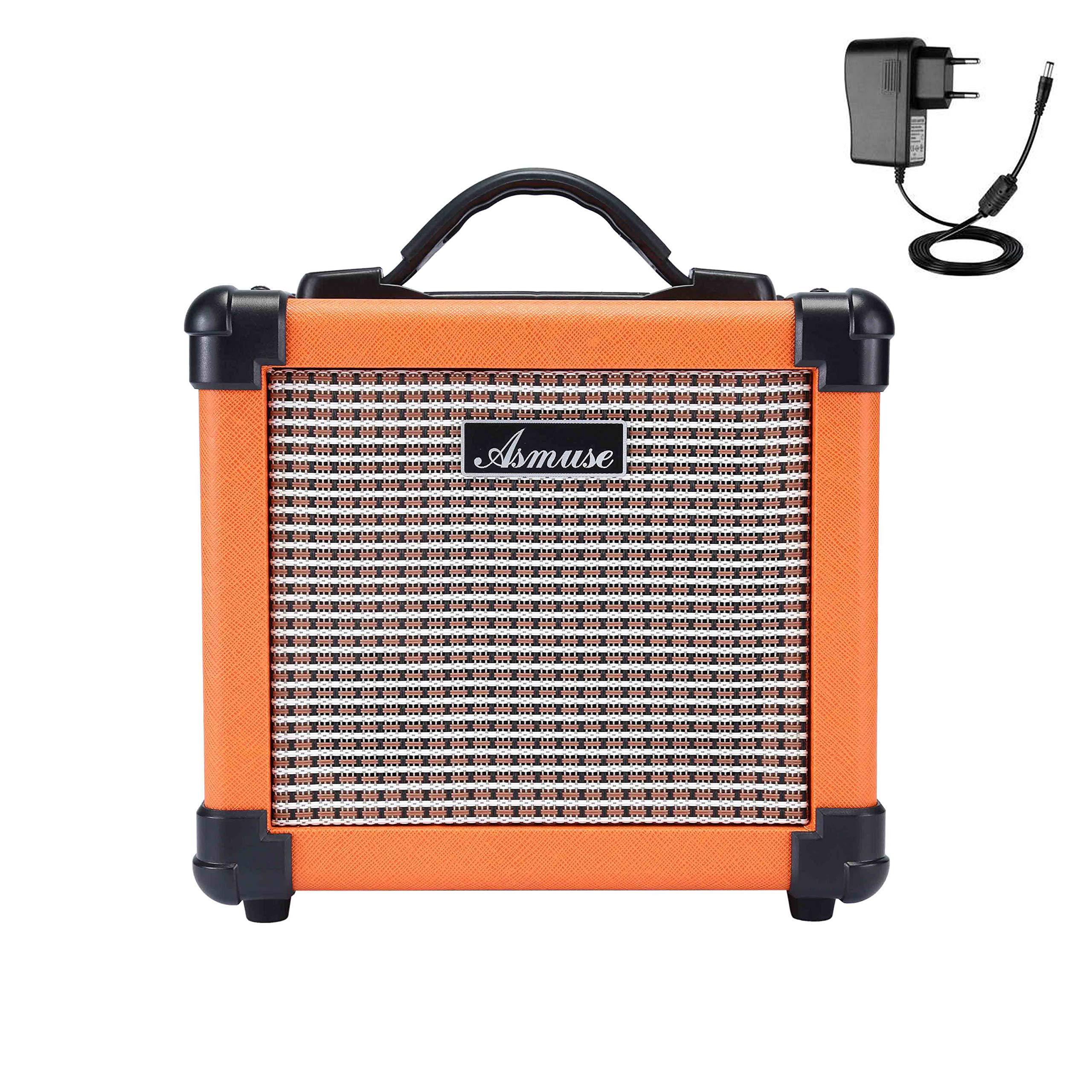 Asmuse™10W Amplificadores Combo para guitarras Bajo Eléctrico Instrumentos Mini Amp Altavoz para estudio de