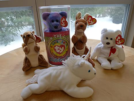 10aae5b241c Amazon.com  10 Beanie Babies USED - Wholesale Lot  Toys   Games
