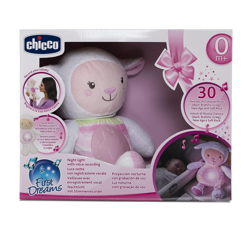 Azzurro Chicco Baby Senses Mamma Lullaby Pecorella
