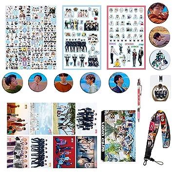 BTS Gifts Set for Army Bangtan Boys BTS Collectibles, BTS Pin, BTS Poster,  BTS Sticker, etc (1)