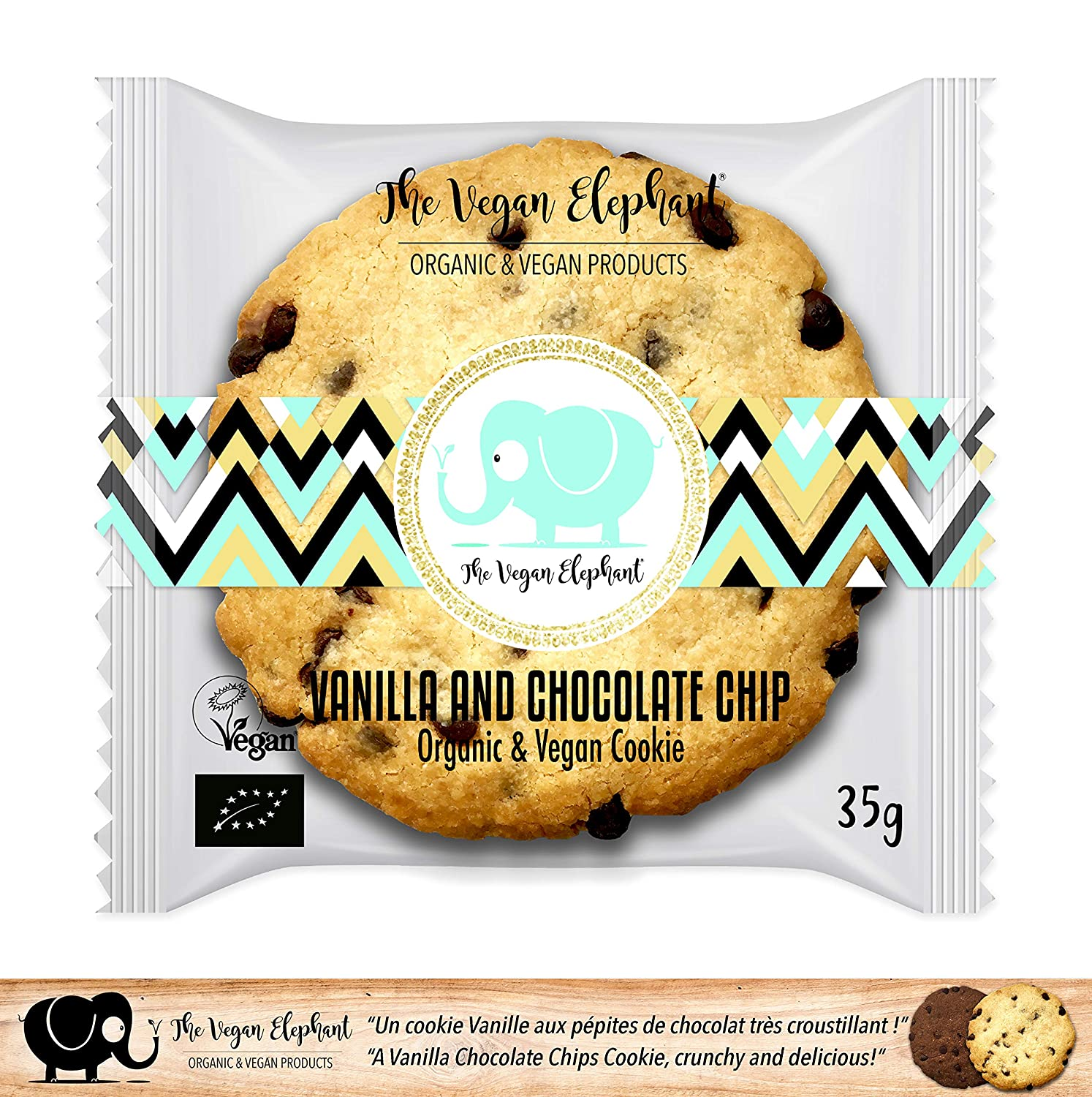 17 Galletas Orgánicas y Veganas Vainilla y Chocolate.595g (PACK OF 2): Amazon.es: Alimentación y bebidas