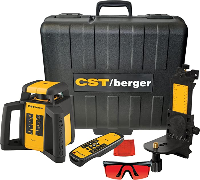 Best Valued Interior/Exterior Rotary Laser Kit: CST/berger RL25HV