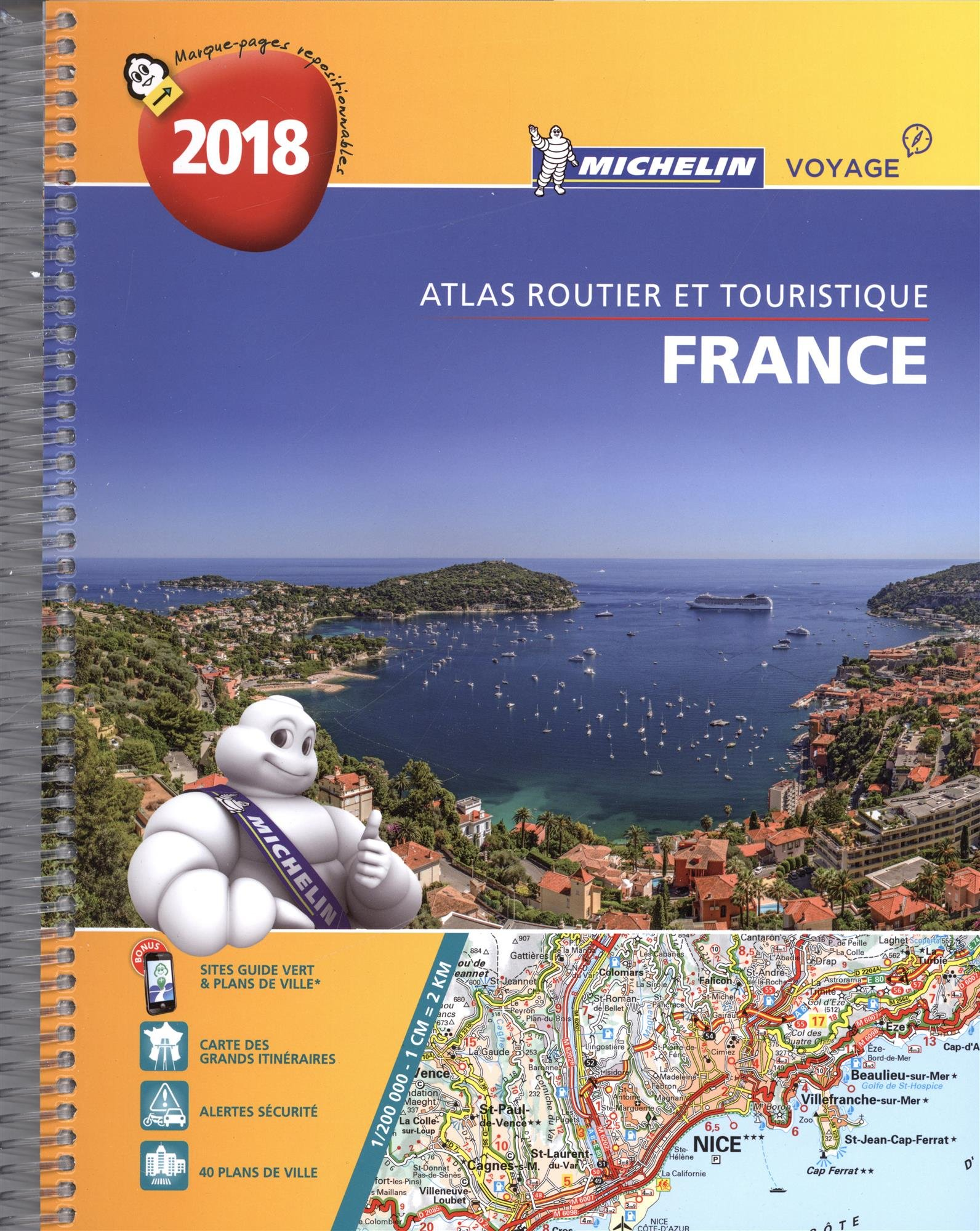 Atlas Routier France Spirale Michelin 2018 Reliure à spirales – 2 octobre 2017 2067225731 Voyages / Cartes et Plans Atlas routiers France Cartes France