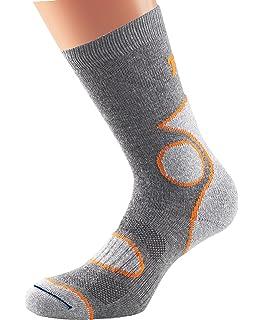 1000 Mile Mens 4 Season Walking Socks-Slate Medium//Size UK 6-8.5