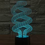 3D DNA Spiral Light by Playtime 123 is a Great Nightlight with a Soft Glow for Kids. These Lights Make Beautiful Gifts for Mom and Amazing Desk Lamps for Dad. Start enjoying your own 3d Light Today!