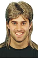 Smiffy's Men's Mullet Wig Highlights