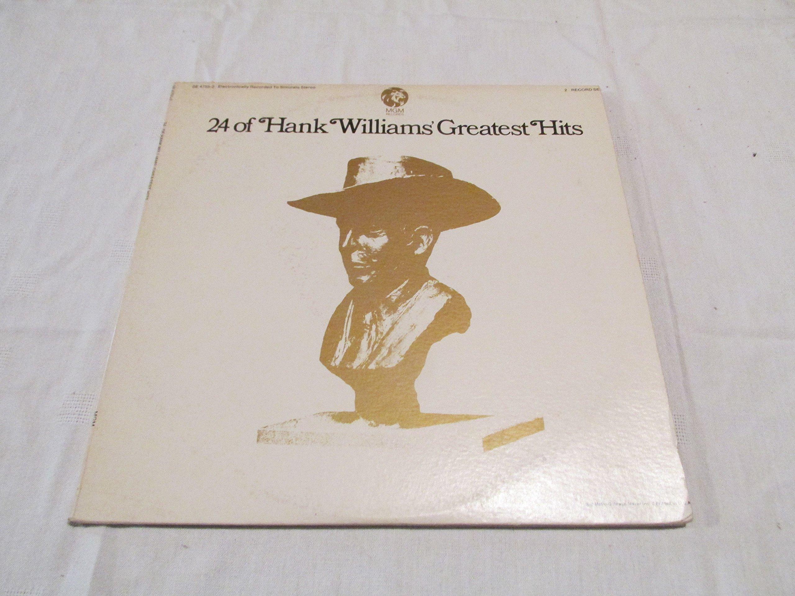 24 of Hank Williams' Greatest Hits