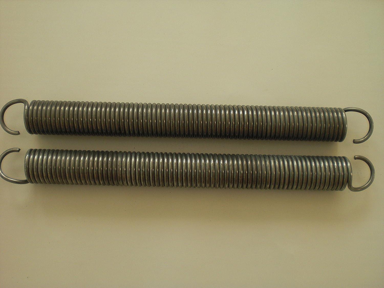 1 Paar Eckerttortechnik Garagentorfeder Zugfeder Drahtst/ärke 6,3mm A/ü/ßendurchmesser 50mm Gesamtl/änge 53,5 cm Zugleistung 150Kp