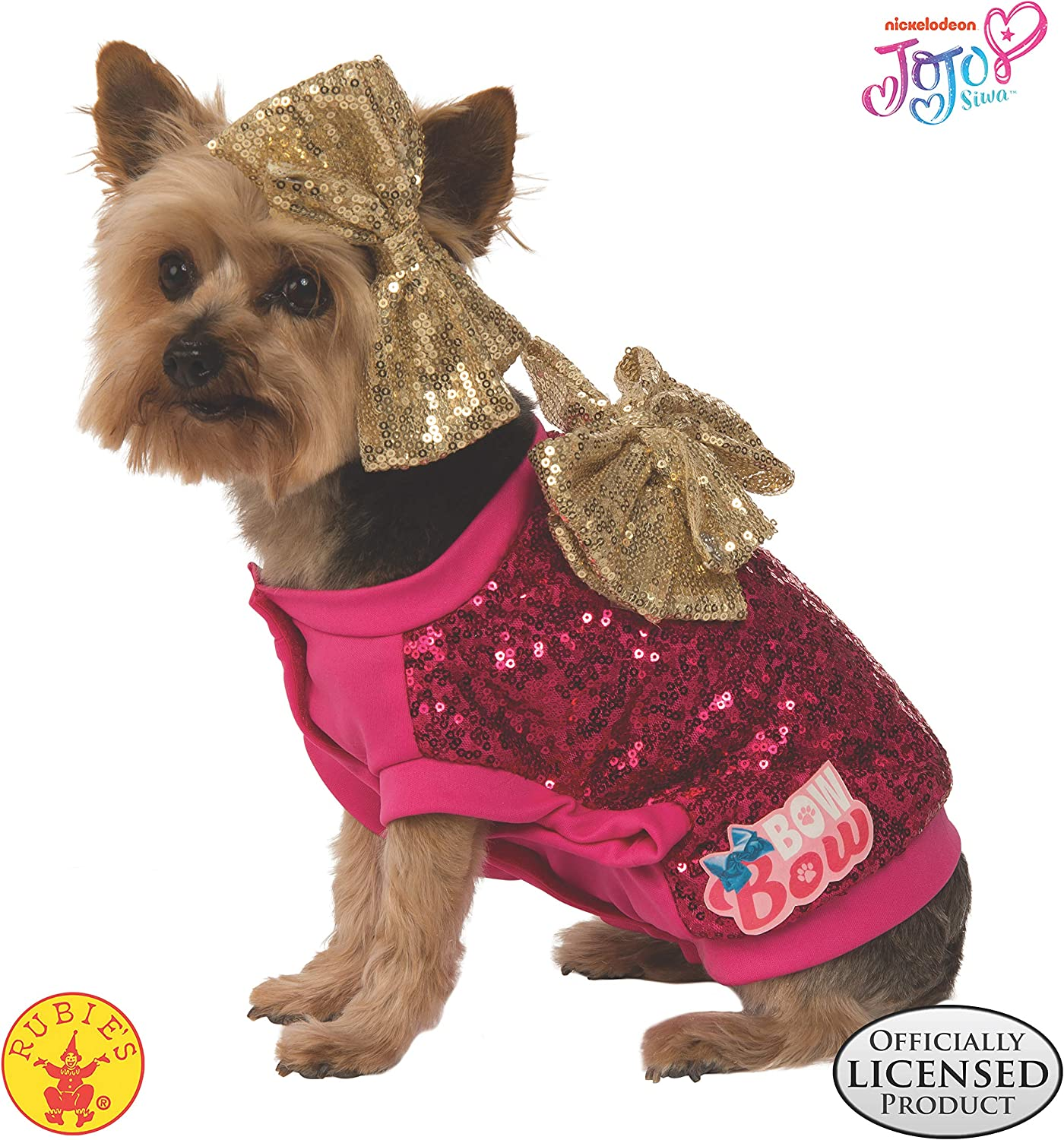 Amazon Com Rubie S Jojo Siwa Pet Costume Small Pet Supplies