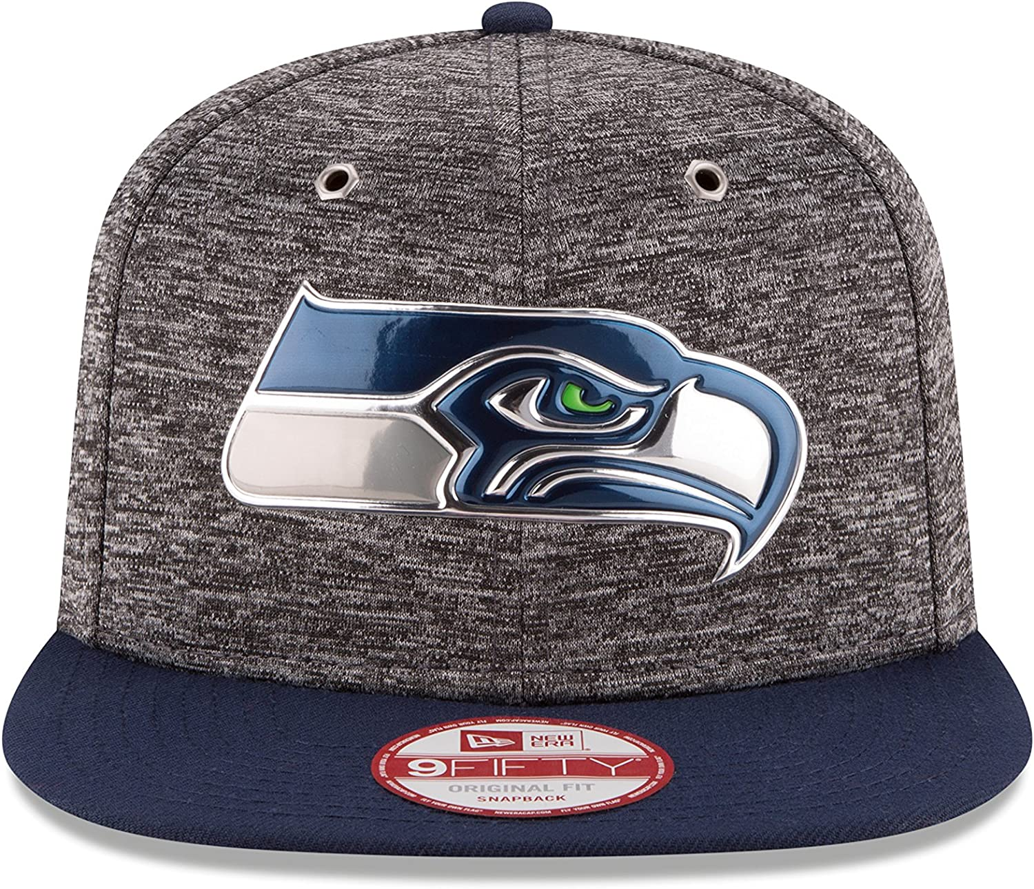 New Era NFL SEATTLE SEAHAWKS Authentic 2016 On Field Sideline Tech 39THIRTY Game Cap