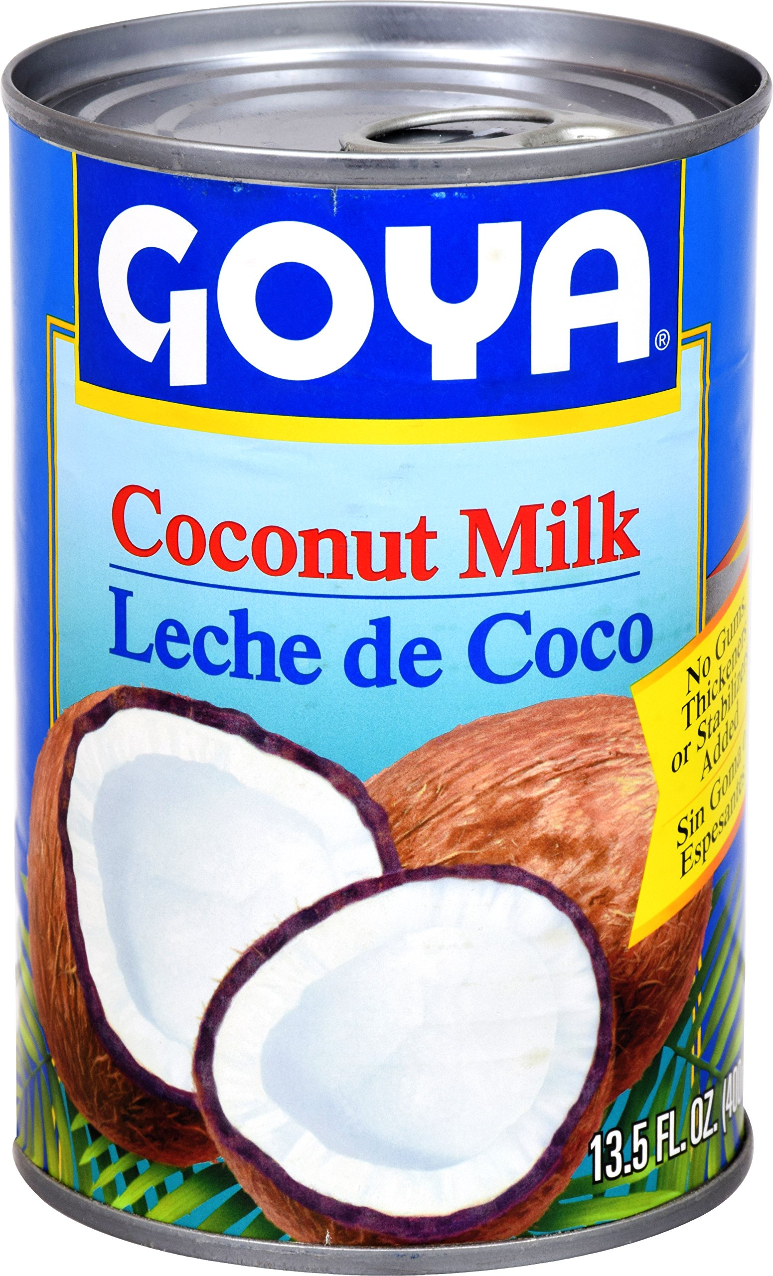 Goya Foods Unsweetened Coconut Milk, 13.5-Ounce (Pack of 24)