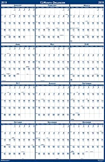 product image for House of Doolittle 2019 Laminated Wall Calendar, Reversible, Horizontal/Vertical, 18 x 24 Inches, January - December (HOD3960-19)