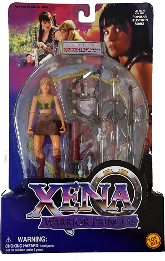 XENA GABRIELLE w/ SPINNING STAFF ATTACK by Xena: Amazon.es ...