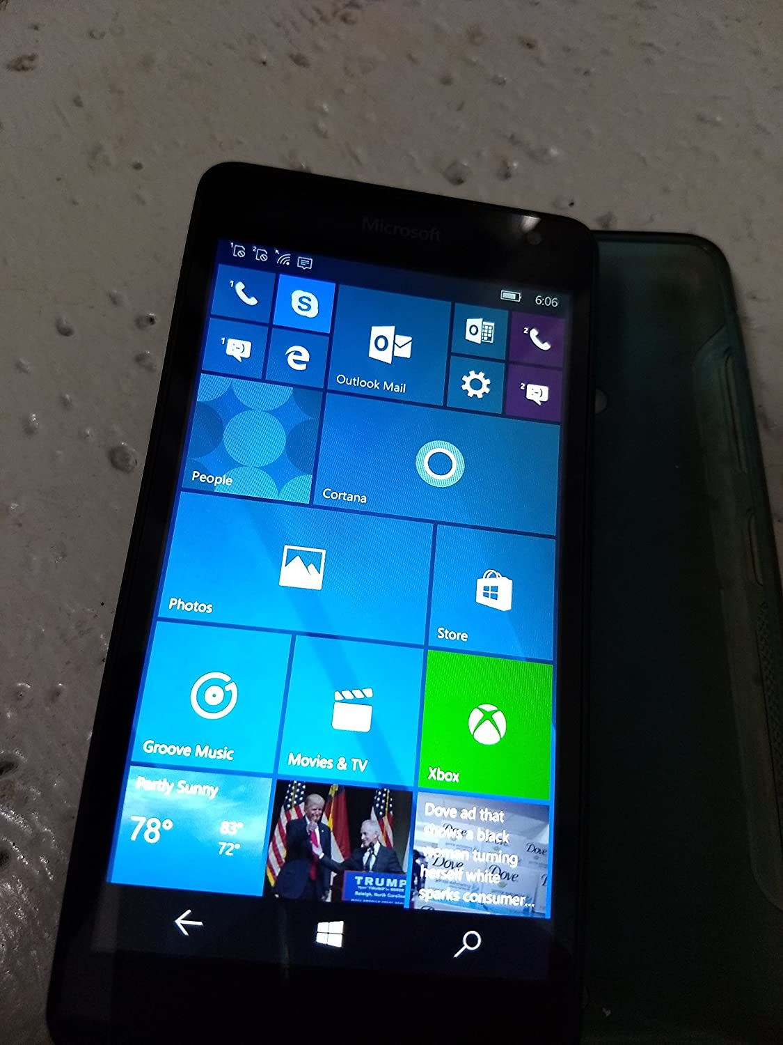 Amazon com: Microsoft Lumia 535 RM-1092 Dual SIM Factory