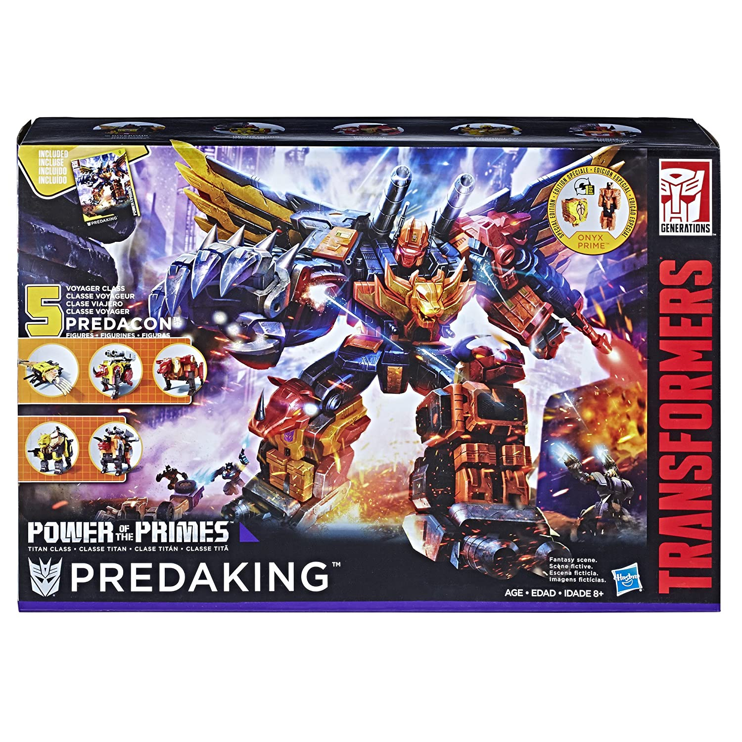 Transformers News: Big Black Friday Savings for Transformers in the US and Canada including Predaking and MPs