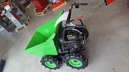 Mini Dumper carretilla a ruedas zi-rd300 Zipper zip01: Amazon.es: Bricolaje y herramientas