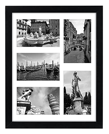 Amazon.com - Collage Picture Frame 11x14 - Displays Five 4x6 Inch ...