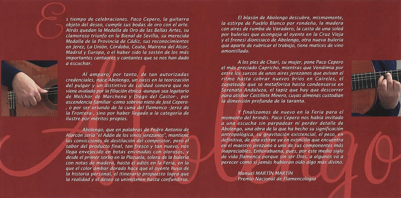 Abolengo: Paco Cepero: Amazon.es: Música
