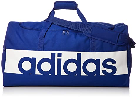 9ea9ac219d adidas Lin per TB L, Borsa Sportiva Unisex Adulto, Mystery Ink F17/Bianco