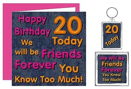 Juego de regalo de cumpleaños para 20 amigos para siempre ...