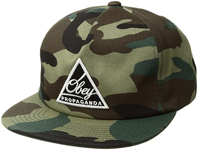 Obey Hombres New Federation III Snapback Low Unstructured Hat ...
