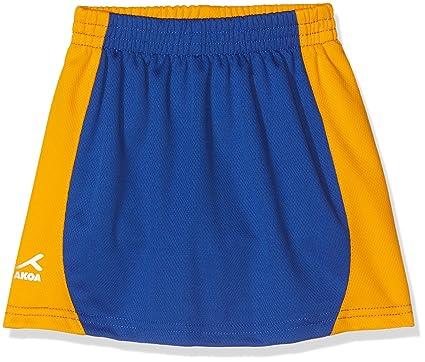 a10ccaee60 AKOA Girl's Sector Skort Skirt Sports, Blue (Royal/Amber), 5-
