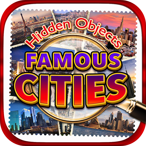- Hidden Objects World Famous Cities - New York, Paris, Italy, London, LA, Vegas, Florida, Chicago, Hong Kong & Object Time Travel Puzzle Pic Photo Spot Differences Game