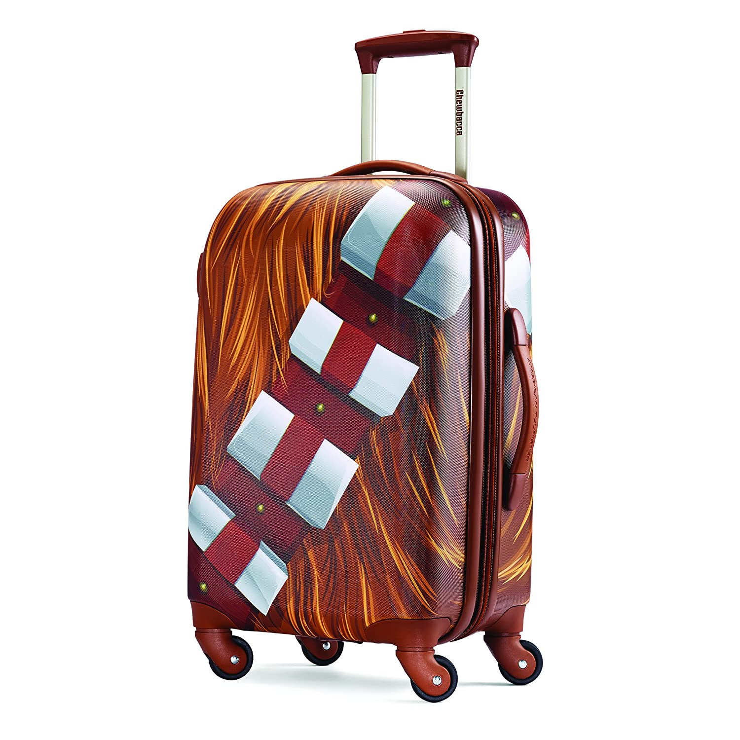 American Tourister Disney Star Wars All Ages 21-Inch Spinner Carry-On Expandable, Chewbacca, International Carry-On Samsonite Corporation - CA 75758-5323