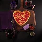 Valentine's Day Heart-shaped Pizza Gift Package (1 heart-shaped Cheese pizza & 1 round Pepperoni pizza)