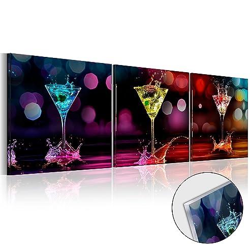 Murando - Acrylglasbild Glass 120X40 Cm - Glasbilder - Wandbilder