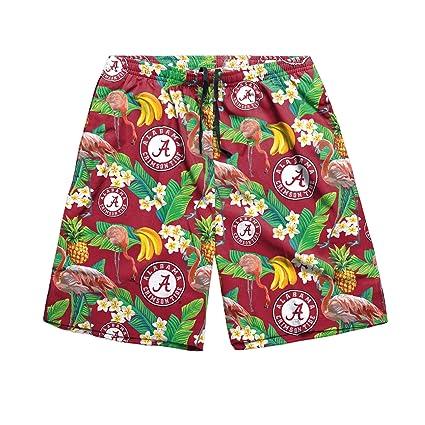 28cfa02b3eb NCAA Alabama Crimson Tide Mens Floral Shortsfloral Shorts