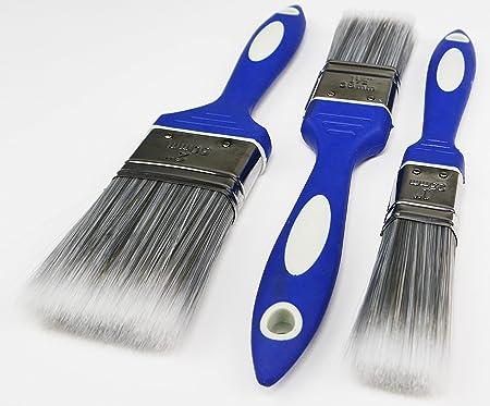 3er Set Malerpinsel Malerpinsel Flachpinsel für lösemittelhaltige Lacke