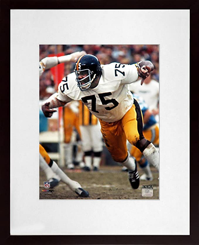 7b6ba3dde Amazon.com  Pittsburgh Steelers Mean Joe Greene 8x10 Photograph (SGA  UnderFifty Series) Framed  Sports Collectibles