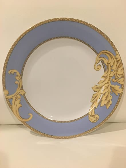 Italian Design Byzantine 49 pcs Porcelain Dinnerware Set Serice for 8 - Blue Gold Floral : italian dinnerware set - Pezcame.Com