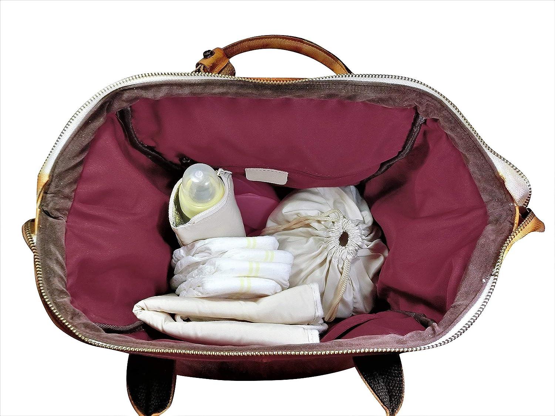Boy Diaper Bag Leather Diaper Bag Backpack Nappy Bag Leather Backpack Diaper Bag Leather Baby Bag Girl Diaper Bag Mommy Bag