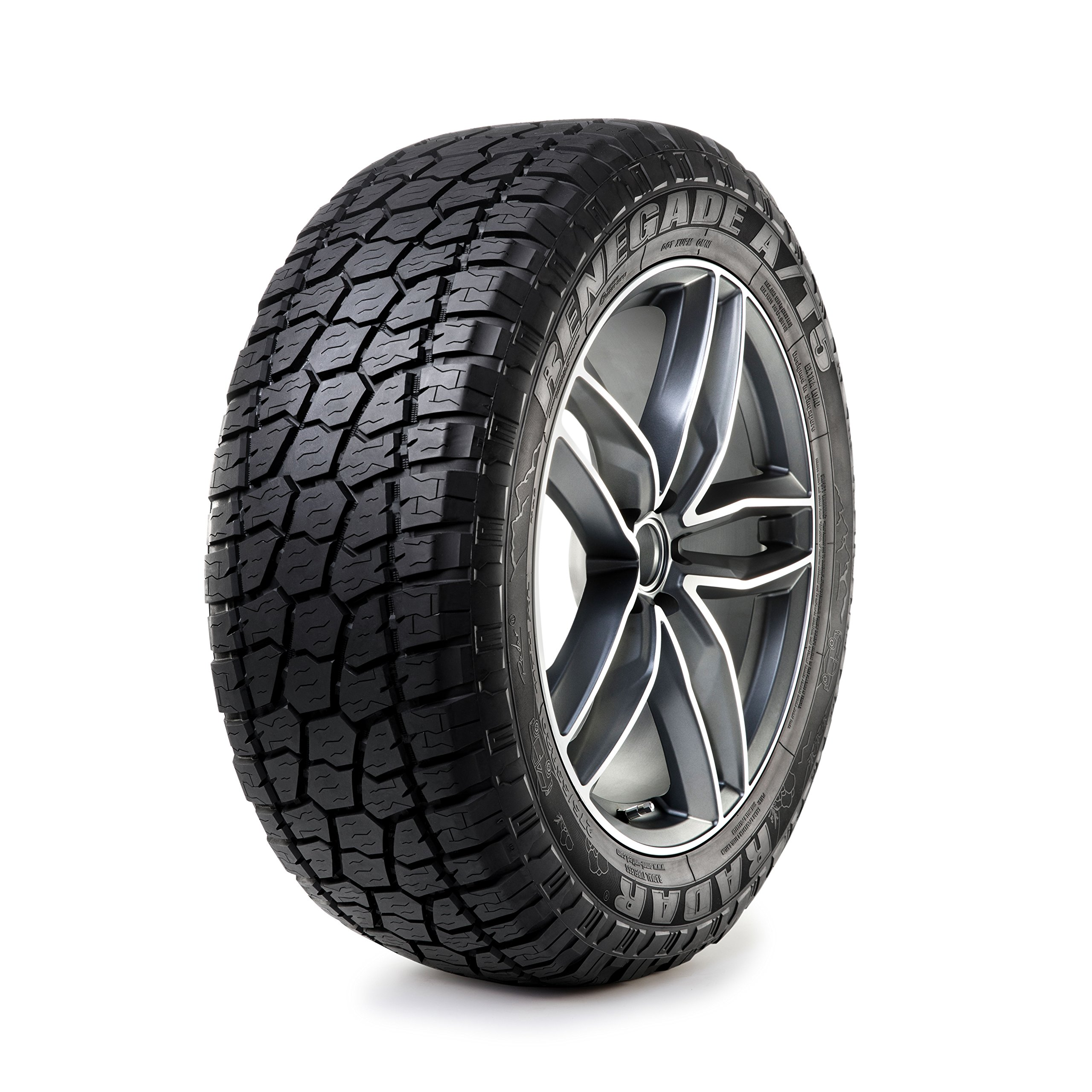 Radar Renegade A/T5 All-Season Radial Tire - LT265/70R17 121S