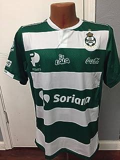 7781dc48d Amazon.com  charly Men s Santos Laguna Away Jersey 18-19 (M) Green ...