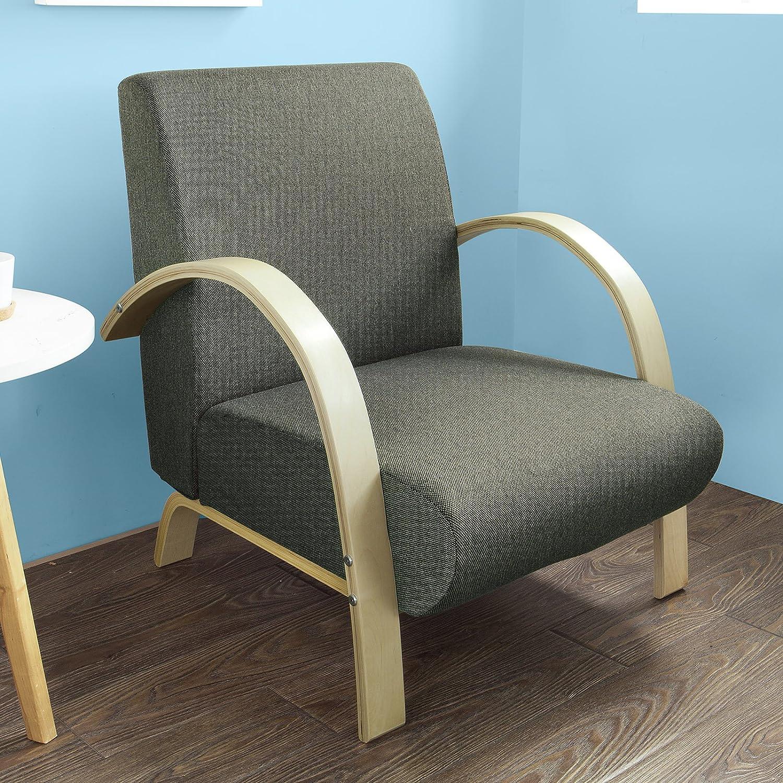 SoBuy Moda Sofá individual, Sillones,Sofás de salón, sillón de relax,FST26-SCH,ES