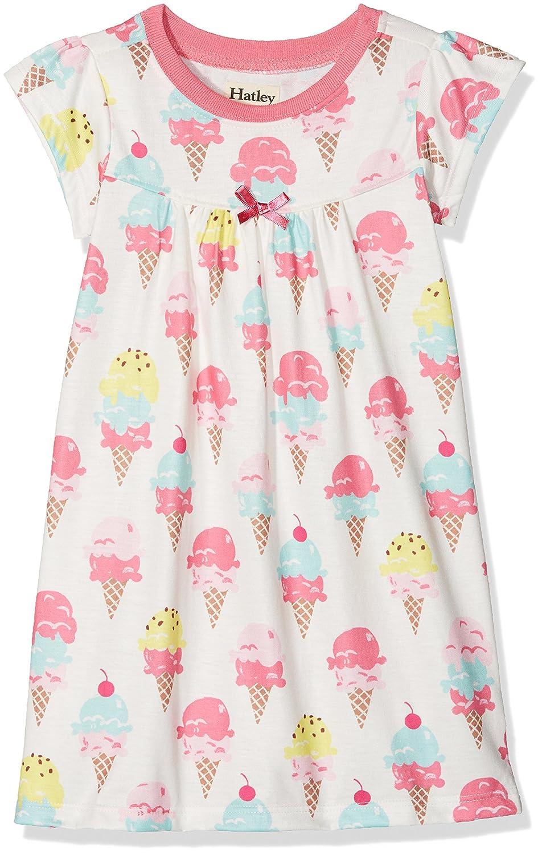 Hatley Polyester Short Sleeve Nighties, Camicia da Notte Bambina