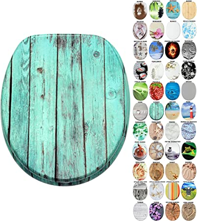 Sedile WC grande scelta di belli sedili WC da legno robusto e di alta qualit/à Lumber