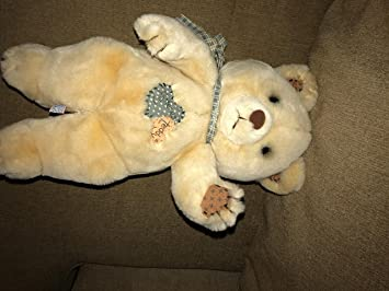Amazon vintage 1985 tattered teddy plush bear w patches vintage 1985 tattered teddy plush bear w patches morgan inc dakin publicscrutiny Choice Image
