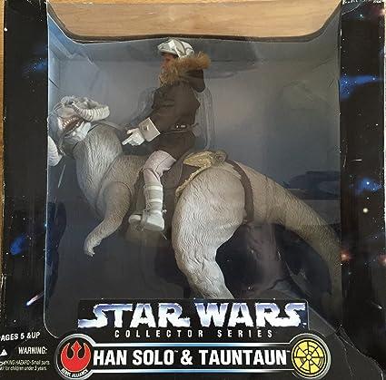 fcebead66e Amazon.com  Huge 1997 Kenner Star Wars Han Solo   Tauntaun 12 inches ...
