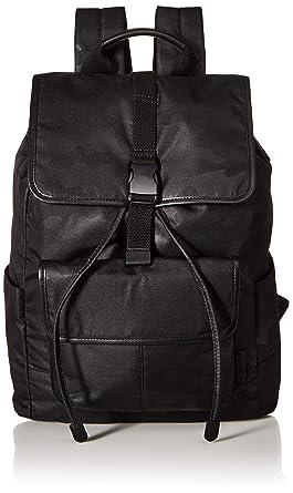 0b0a903ee453 Fossil Men s Buckner Rucksack Backpack Black
