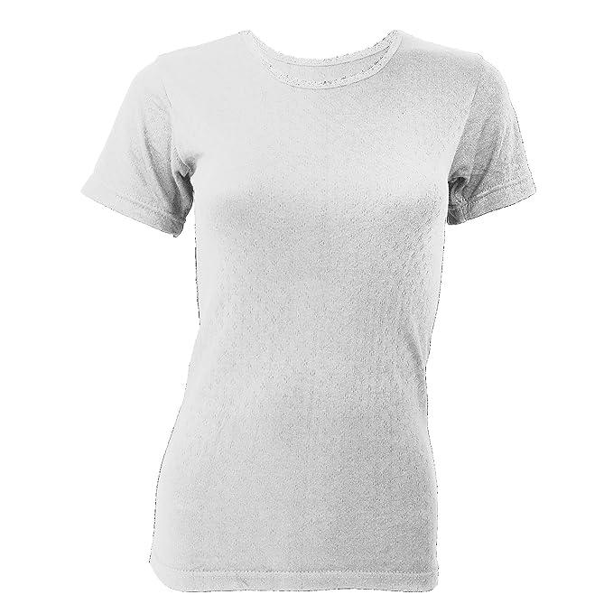 Floso - Camiseta térmica de Manga Corta para Mujer: Amazon.es: Ropa y accesorios