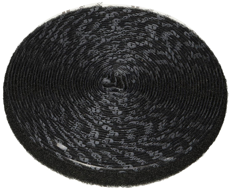 Hook Type Pressure Sensitive Adhesive Back 5 Length 5//8 Wide VELCRO 1002-AP-PSA//H Black Nylon Woven Fastening Tape