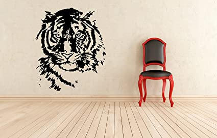 Amazon Com Wall Decals Vinyl Graphics Tiger Wild Cat Animals Big
