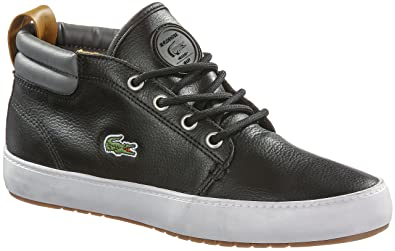 1c51bcbcfb5 Lacoste Ampthill Terra Chi Trainers for Women Black Size  3  Amazon ...