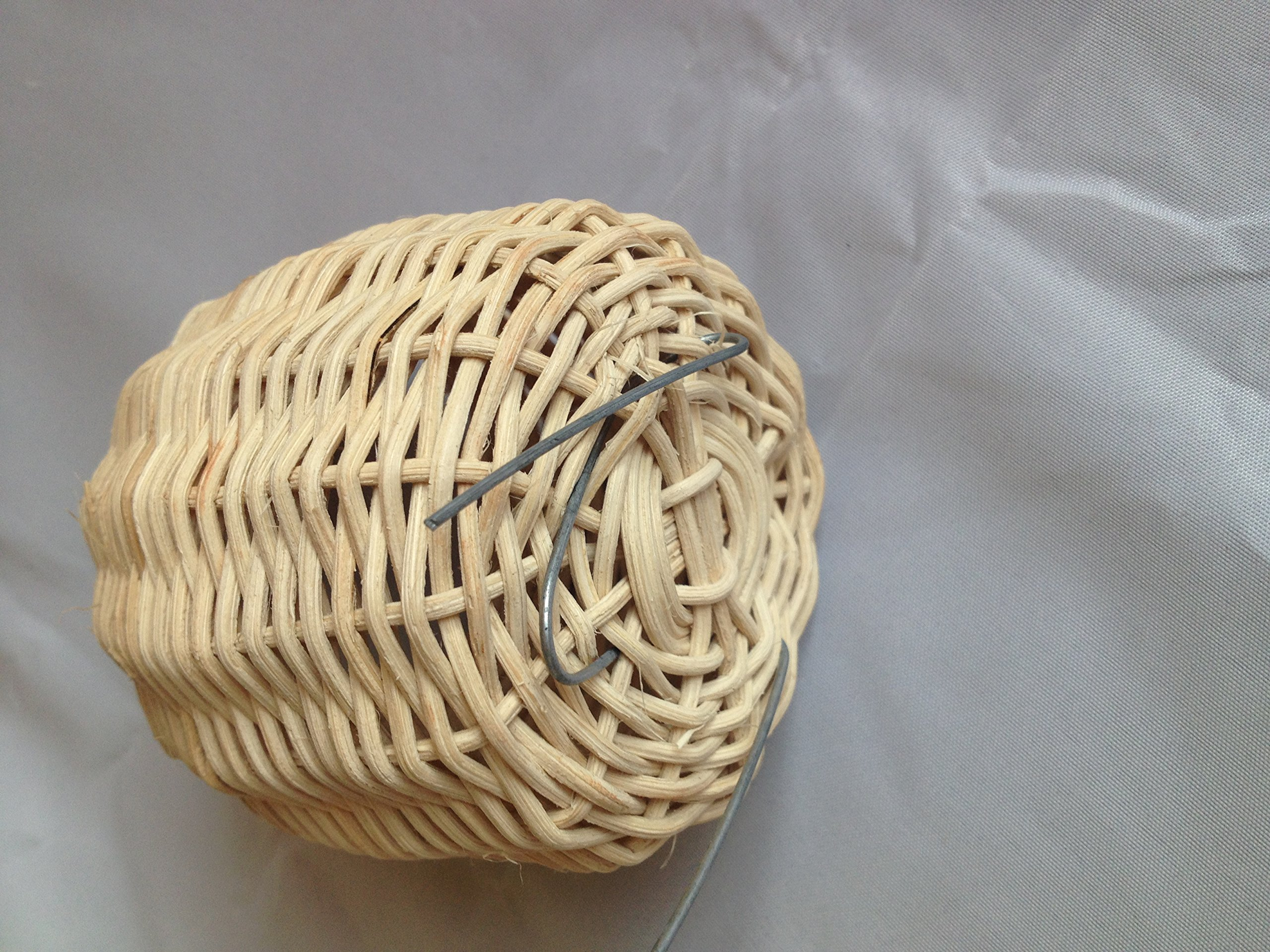 Handmade Rattan Nature's Nest Finch Birds 3x5 Inch by Power of Dream (Image #5)