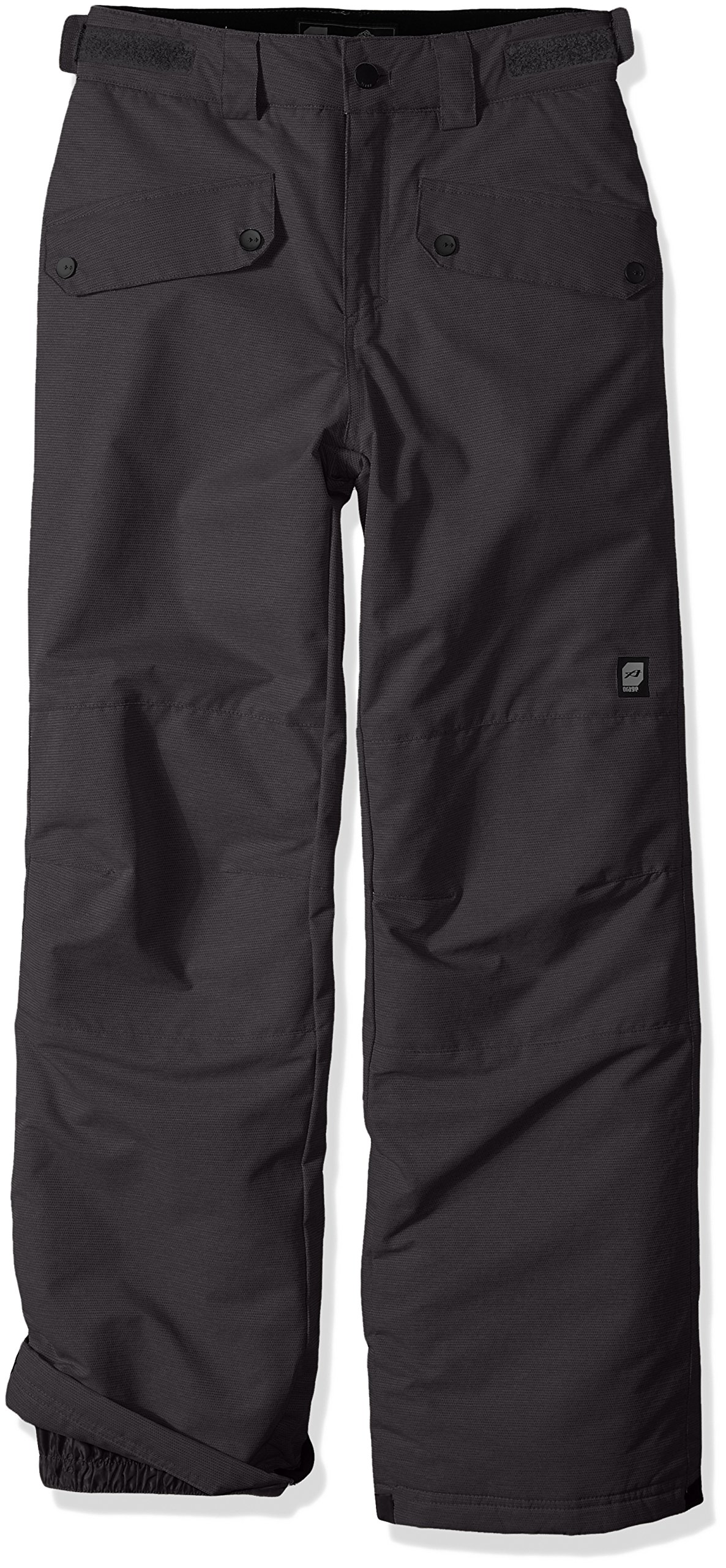 Orage Boys Tarzo Pants, Heather Pepper, Size 10