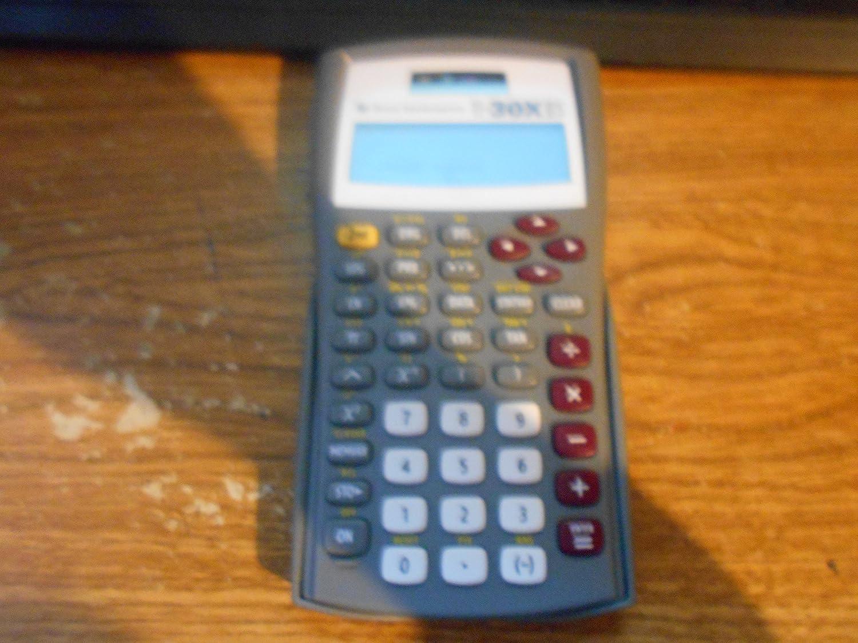 Texas Instruments TI-30X IIS 2-Line Scientific Calculator, Grey
